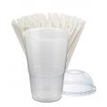 Slush cups and straws