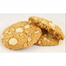Giant cookie - white chocolate and raspberry 40-pack