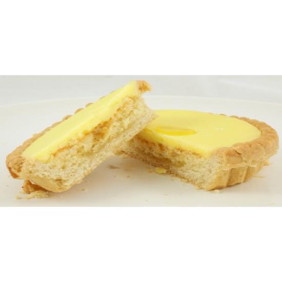 Iced lemon tart