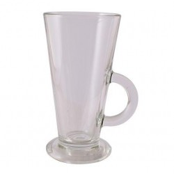 10 oz latte glass - 12 pack