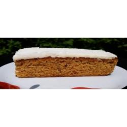Carrot cake slice
