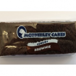 Luxury fudge brownie