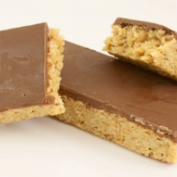 Chocolate top monster flapjack (30s)