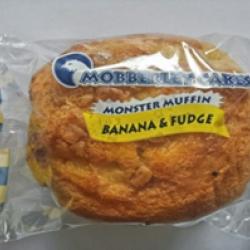 Banana fudge monster muffin